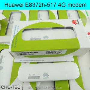 Unlocked Huawei E8372 150Mbps Modem E8372h-517 4G Wifi router 4G LTE Wifi  Modem LTE band1/2/4/5/12/17