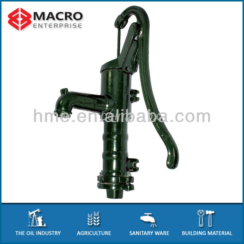 cast iron water hand pump parts for garden