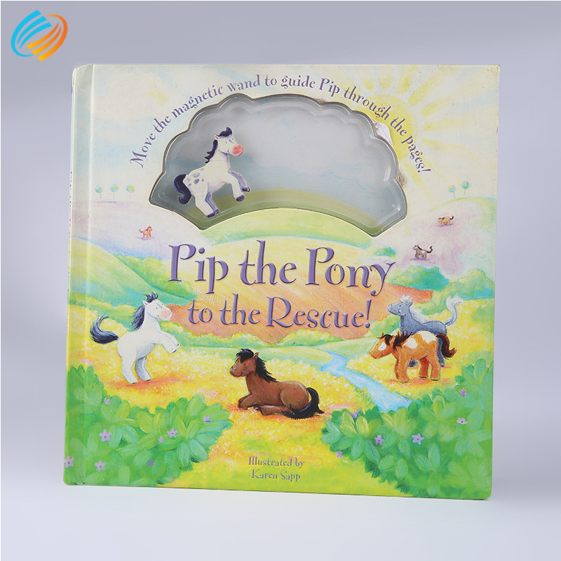 Free Sample Custom Lovely Coloring Hardcover Kid Toys Book Printing