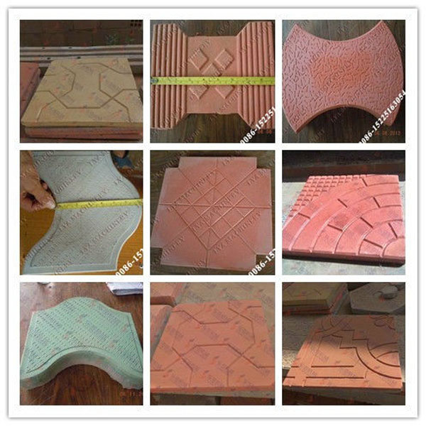 Newest Design Concrete Patio Paver Molds Plastic Paving Mould Interlocking