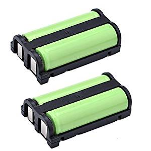 2 Pack 2.4v 1600mAh Cordless Phone Battery for Panasonic HHR-P513 HHRP513 Type 27 KX-TG2208W Dantona BATT-513 BATT513 GE 26423 86423 Lenmar CB0-513 CB0513
