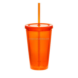2017 sippy cups 32oz BPA free double wall plastic tumbler