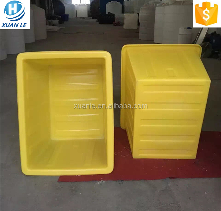 Professionele plastic aangepaste betta vis tank voor farming business