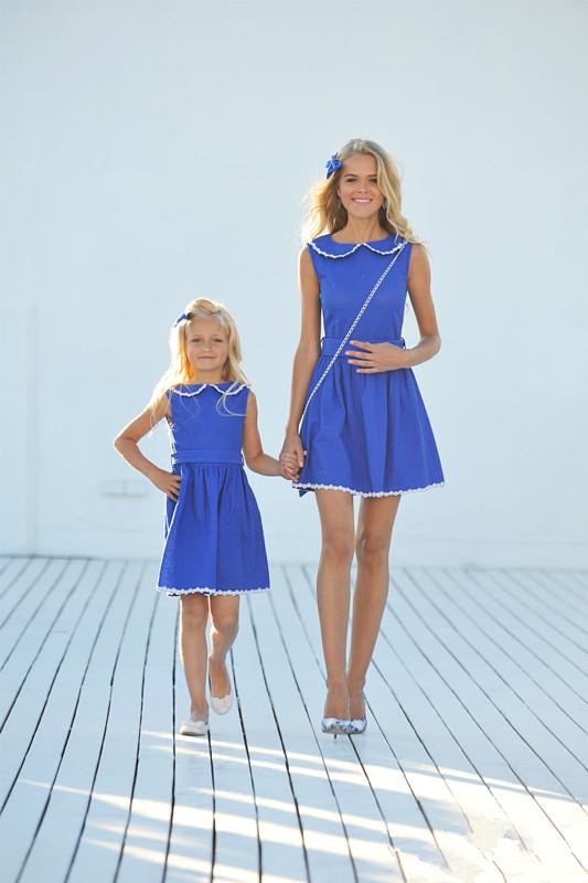 Robe identique mere et fille les derni res id es de design et int ressantes - Vetement mere fille identiques ...