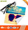 Hot sale logo printed custom microfiber lens cleaning cloth
