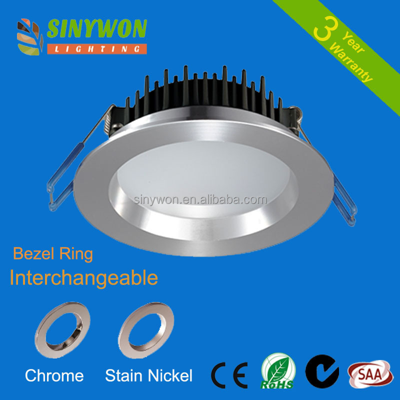 5 years warranty IP54 recessed ultra thin SMD 10 watt LED <strong>downlight</strong> 3.5 inch