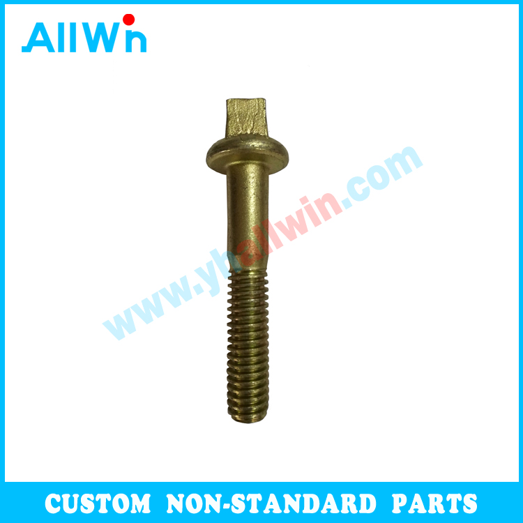 Nonstandard M10 Carbon Steel Zinc plated To drawing big bolts forged bolts Road Stud