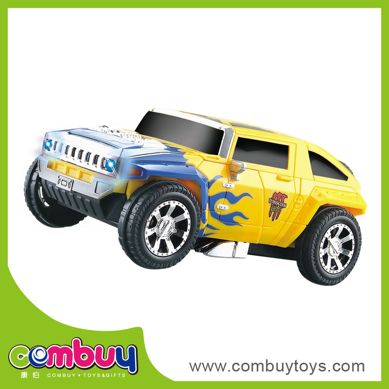 Children educational toy transform car electric vehicle
