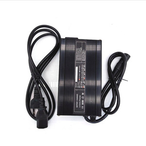 24V Lithium Electric Bike Battery Charger 12 24 Volt Battery metal Charger with cooling fans