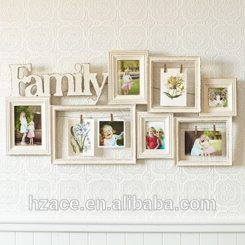 Engineered Wood Photo Frame Family