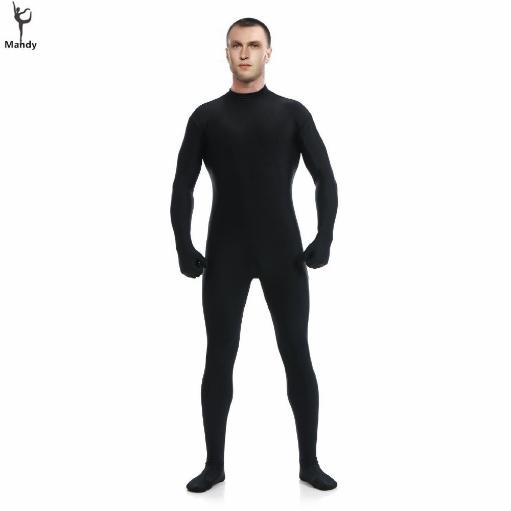 Criticism full body spandex suit