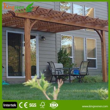Moderne Composite Holz Pergola/freien Hölzerne Garten Pergola ...