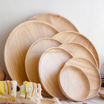 Appetizer and Breakfast bamboo Snack cake Wood Serving Plate/Serving Dish