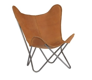 Merveilleux Metal Frame Butterfly Chair