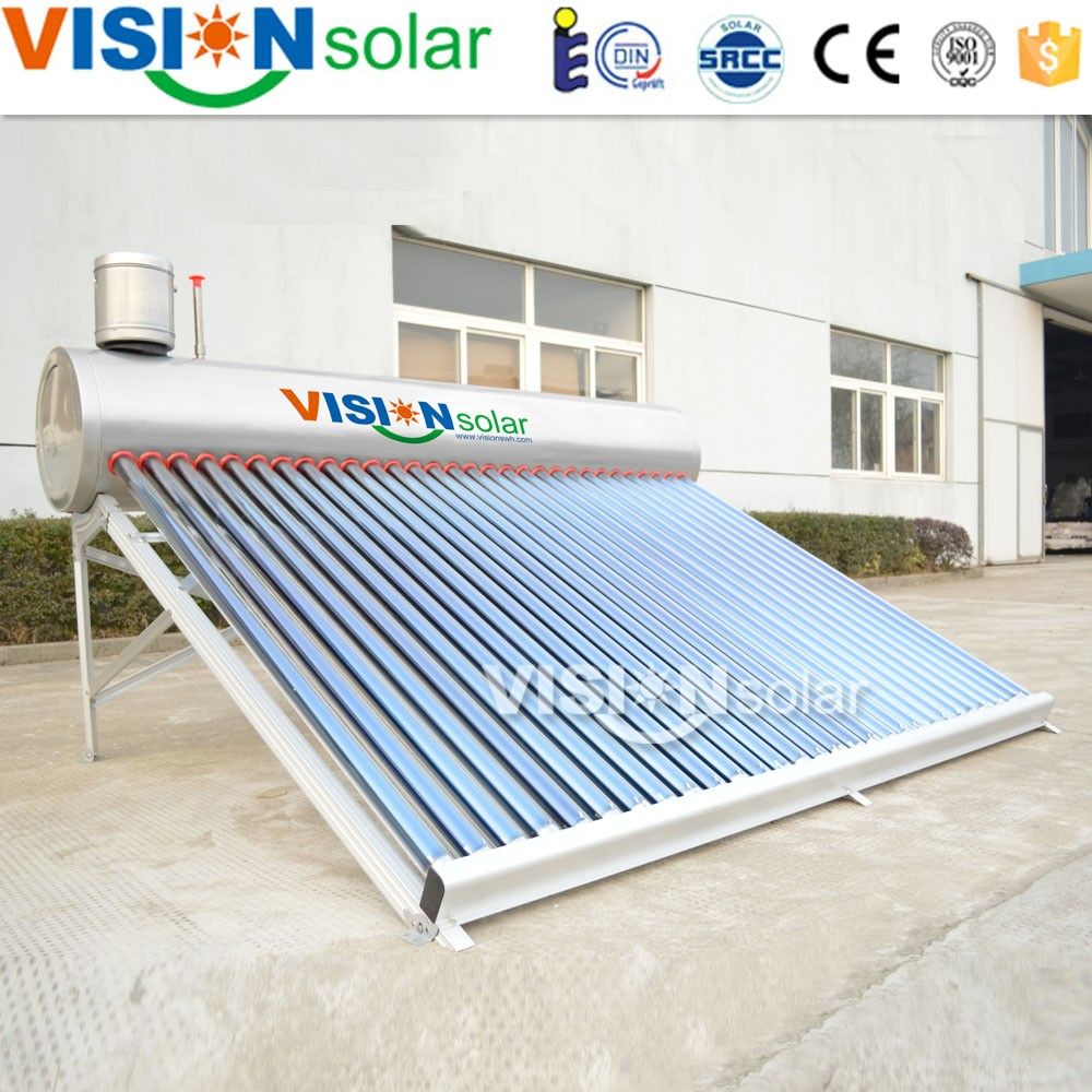 China manufacturer Heating with solar energy/solar water heating products