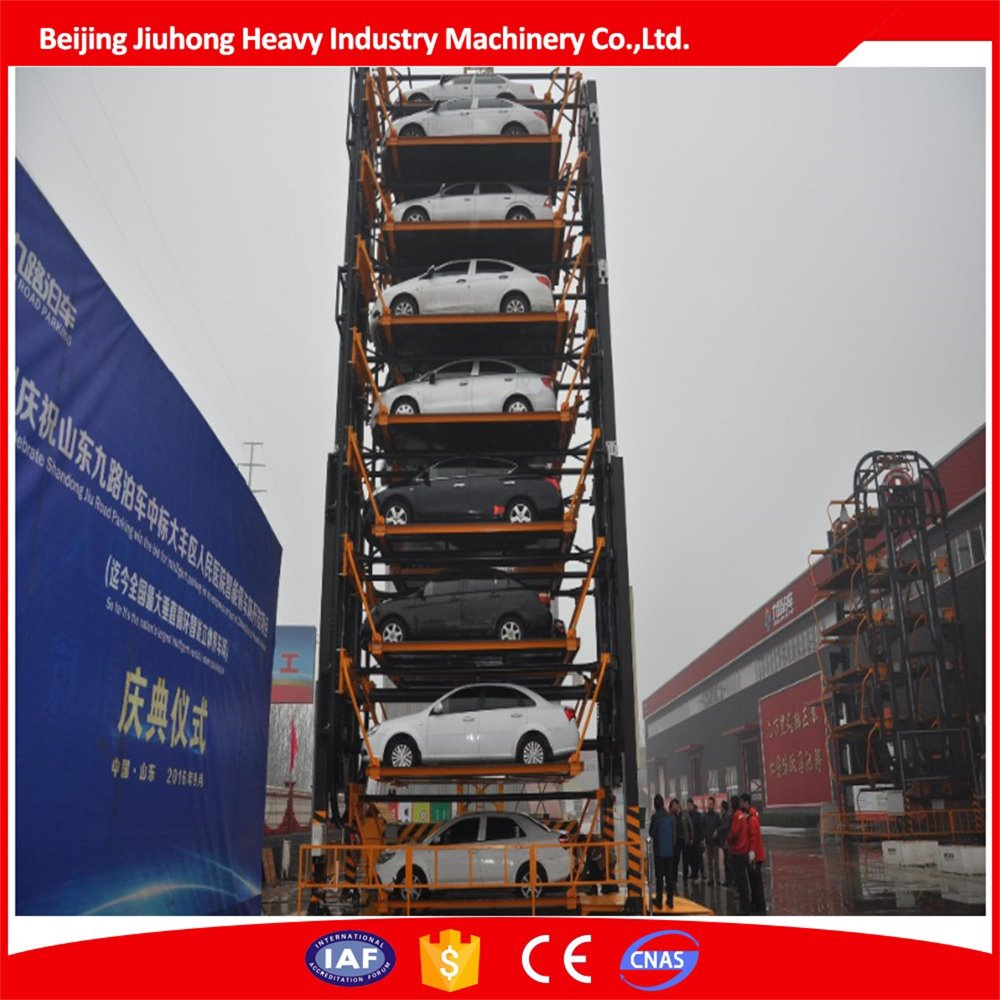 Sedan or SUV cars parking lift equipment rotary Parking