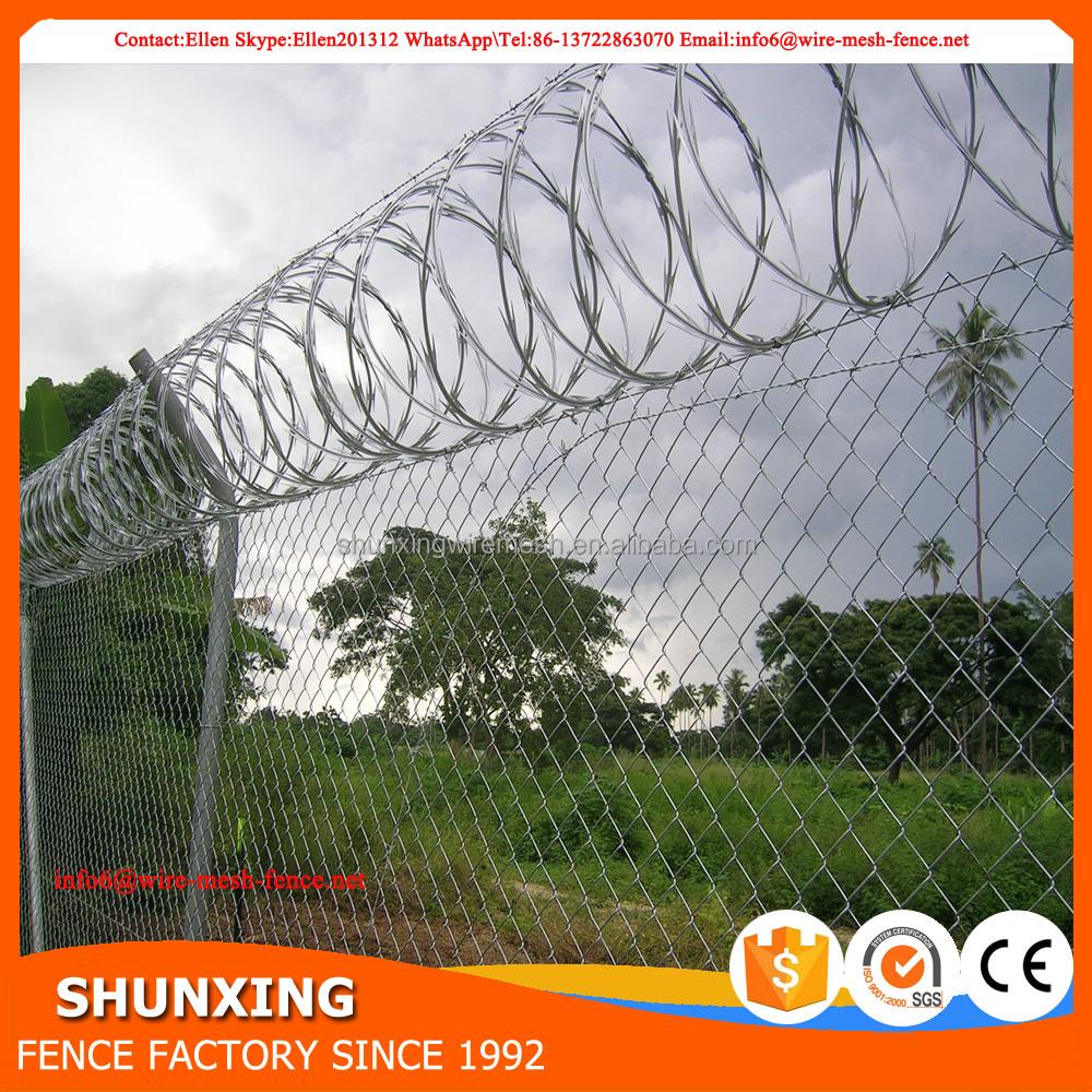 Razor Wire Mesh Fence Anti Climb Spikes, Razor Wire Mesh Fence Anti ...
