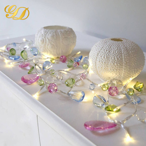 Home/Wedding/Party Decoration CE RoHS Battery Operated 20 LEDS Beads Led String Light