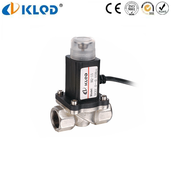 KLMQ series small low voltage solenoid valve for cng