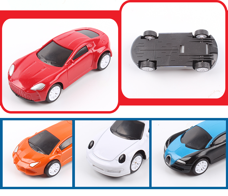 Wholesale custom plastic spray paint emulation toy cars small for children gift