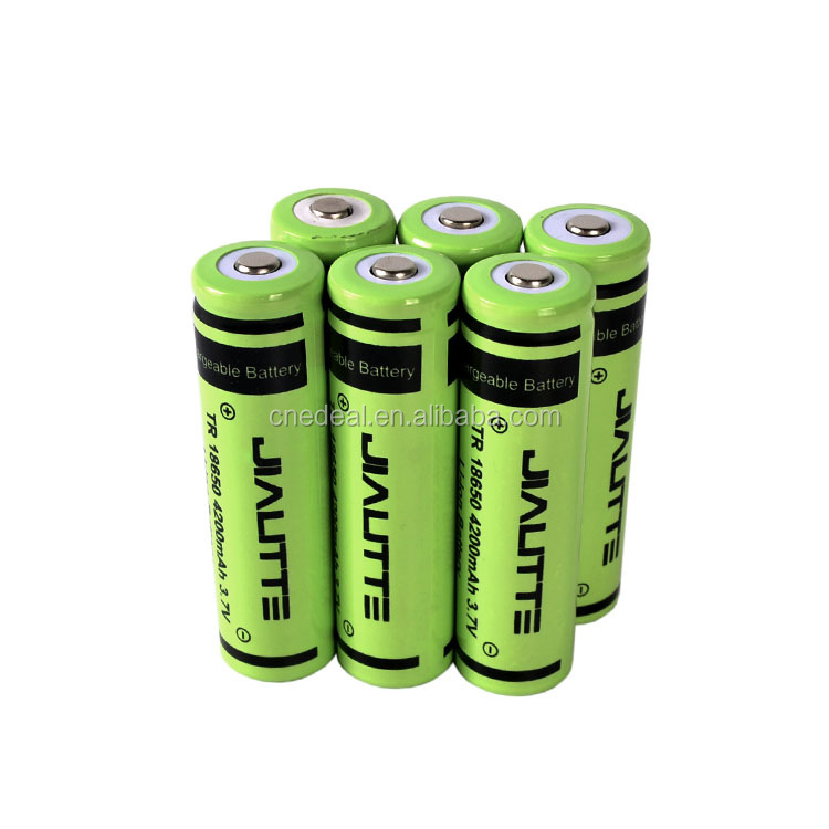 Jialitte C008 Manufacture Lowest Price Rechargeable 3.7V Lithium 18650 Li-ion Battery true 1500mah