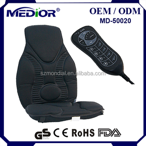 Elite Robo Chair Pad Black Back Massager
