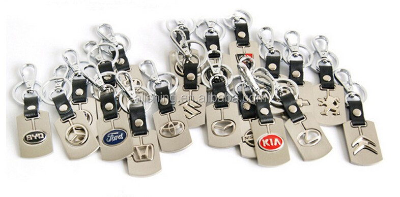 Wholesale Auto Draler Car Parts key chains/Atuo metal keychains for the LED Spark Plug keychains colorful
