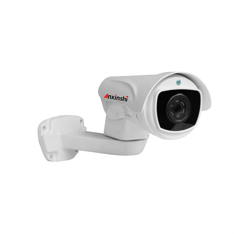 2MP 1080 P 10X Zoom Full-HD Kleur IP Bullet PTZ Camera IR 100 M security camera P2P met SD card slot