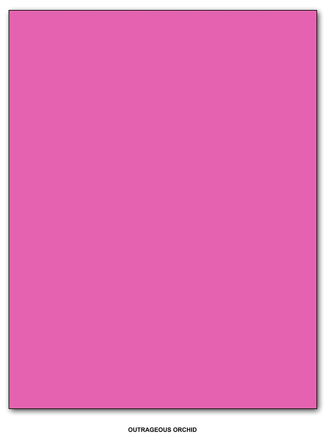 get quotations bright color paper regular 24lb size 85 x 55 half letter size