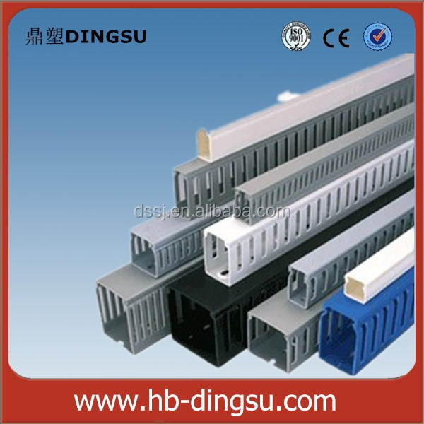 White Pvc Trunking Cable Electrical Wire Casing Size - Buy Wire ...