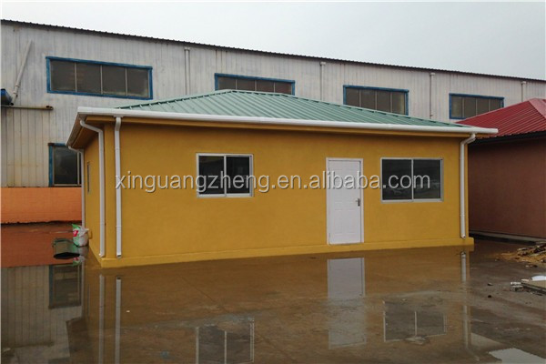 temporary portable prifabricated house