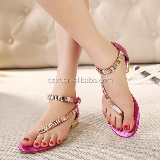 Hot Sale Girls Latest Flat Shoes Fashion Women Flat Shoes Elegant ...