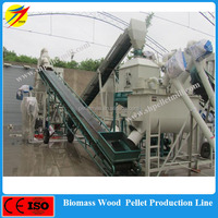 High efficiency save power wood pellet production line for wood sawdust,brunch,chips,stalks