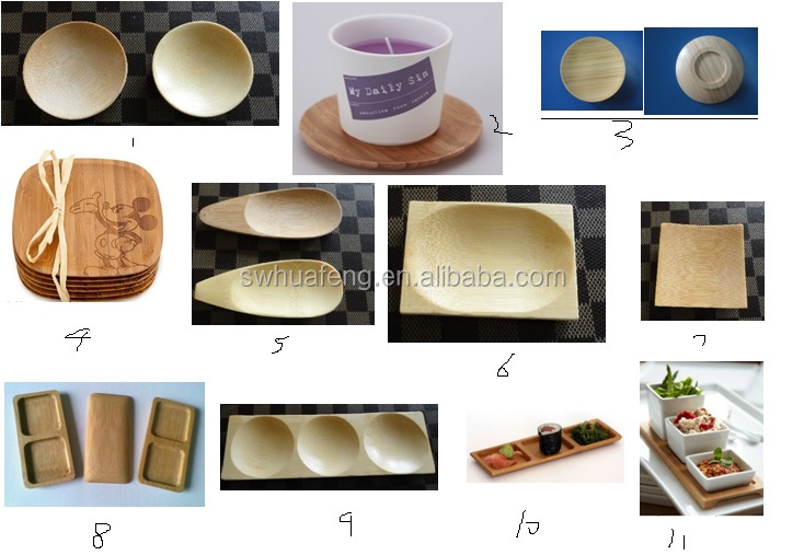 2017 Best Sell Bamboo Plate/eco Friendly Bamboo Product