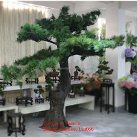 LF092603 Artificial pine trees artificial evergreen trees/indoor home decorative fake pine trees