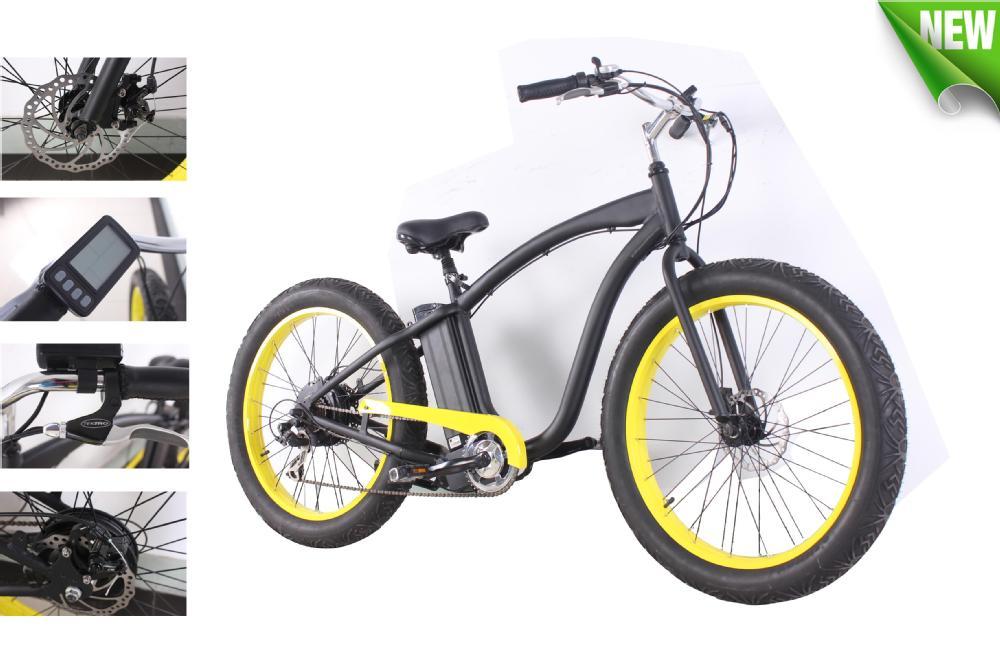 Buy Strong Fat Tire Electric Chopper Bike 48v 500w