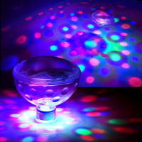 Waterproof RGB Floating Disco Aqua-Glow Light Show Swimming Pool Hot Tub Spa Lamp Underwater Color Changeable pool lights