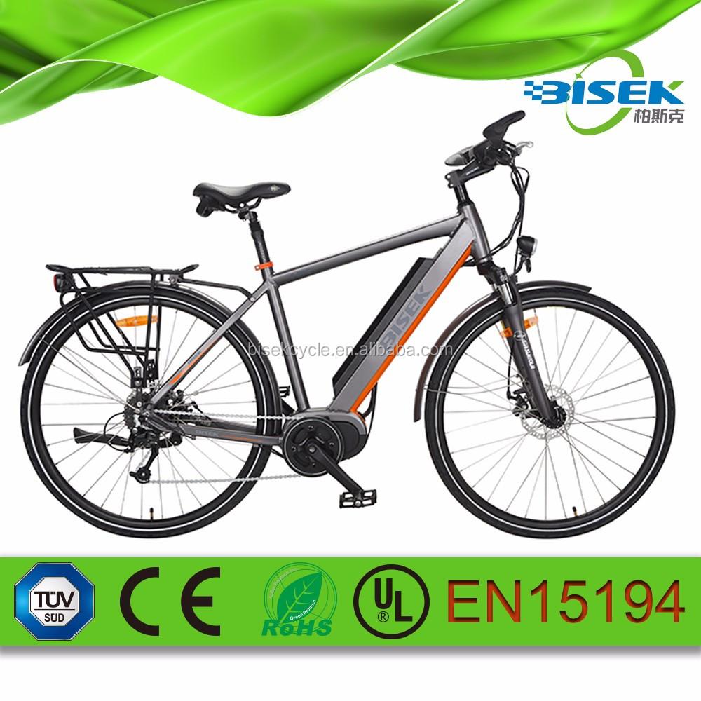 28inch 700cc Road Electric Bike 250w E Bike With Mid Motor