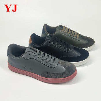 b2113f9f889d China factory wholesale women suede lace-up flat urban sole casual shoes  for men