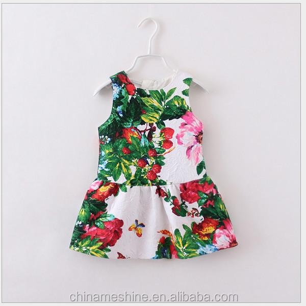 Ms60299c Latest Design Summer 2015 Fashion Baby Dress