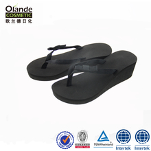 Cheap Wholesale EVA High Heel Flip Flops Wedge Sandals