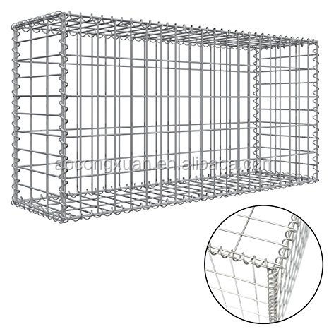 2mx1mx1m Gabion Baskets, 2mx1mx1m Gabion Baskets Suppliers and ...