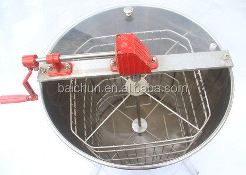 manual electric honey extractor 304 stainless steel material 4 frames honey extractor for sale