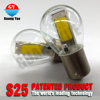S25 bulbs led chip edge light ,wholesales G5 G7 flip chip brake tail light side light