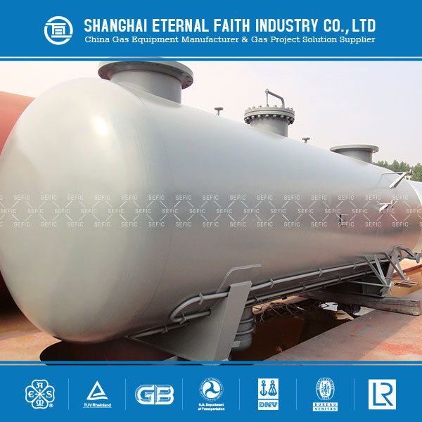 Used Widely 100m3 Gas Storage Tank LPG Tank for Sale