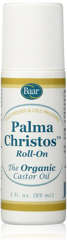 Palma Christos Roll-On, Organic Castor Oil 3 oz