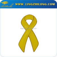 Wholesale cancer awareness ribbon lapel pin