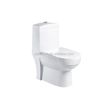 Indian Ceramic Sanitary Ware Rotation One Piece Water Closet Bathroom White Toilet Bowls For Home