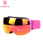 Spherical Safety Glasses Unisex easy change lens system replacement lens snow googles magnetic ski goggles