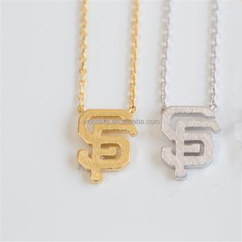 Wholesale monogram sf leter word pendant choker necklace women gold wholesale monogram sf leter word pendant choker necklace women gold plated steel chain necklace aloadofball Gallery
